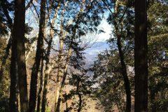 熊倉山頂上からの展望
